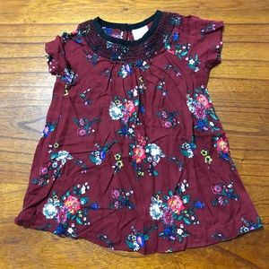 Hanna Andersson Floral Dress Girls 70 6-12mo